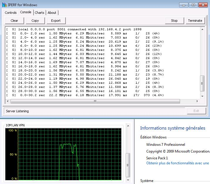 iperf pour windows 7