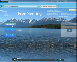 FreeMeeting.com quick start